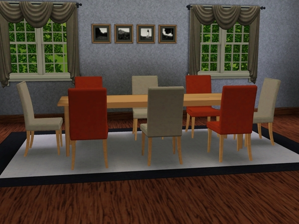 Essential rob 39 s ikea style modern long dining table - Ikea long dining table ...