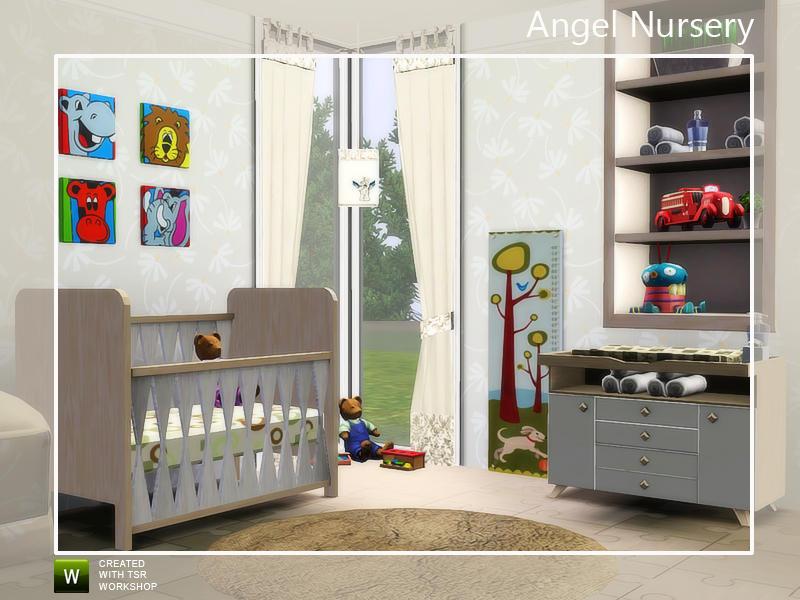 Angela 39 s angel nursery - Sims 3 babyzimmer ...