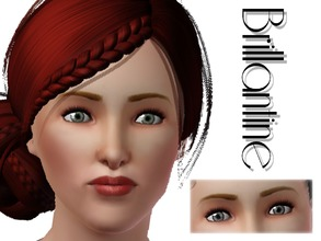 Sims 3 — Brillantine Contact Lenses by lilliebou — Hi everyone ! These contact lenses can be found in Costume Makeup in