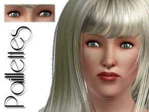 Sims 3 — Paillettes Contact Lenses Small Pupil by lilliebou — Hi everybody ! These contact lenses with small pupil can be
