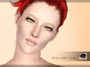 Sims 3 — Eyeliner f005 by flinn — Classy, subtly winged eyeliner. Two channels once again, lashes on lower lid. Perfect