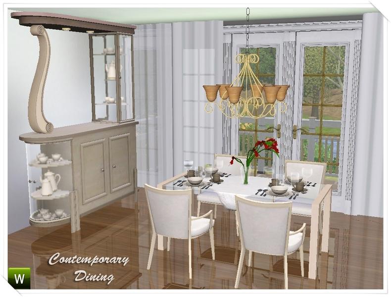 Deeiutzas Contemporary Dining Room