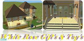 Sims 2 — White Rose Gift\'s & Toy\'s by beckyleanne — No Sim Town Is Complete Without A Gift & Toy Shop. The