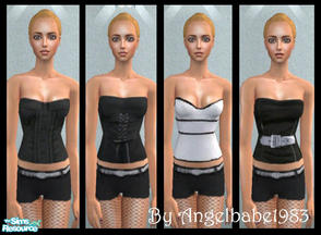 Sims 2 — Amelia-Rose by Angelbabe1983 — Here is an Everyday Set for your Female Adult Sims. Comes in 4 different colours