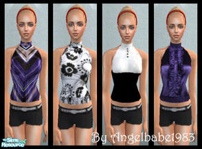 Sims 2 — Amira-Jane Set by Angelbabe1983 — Here is an Everyday Set for your Female Adult Sims. Comes in 4 different