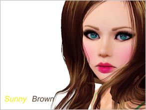 Sims 3 — Sunny Brown by steadyaccess — Sunny Brown is a beautiful, romantic, young girl! With sensual lips, big green