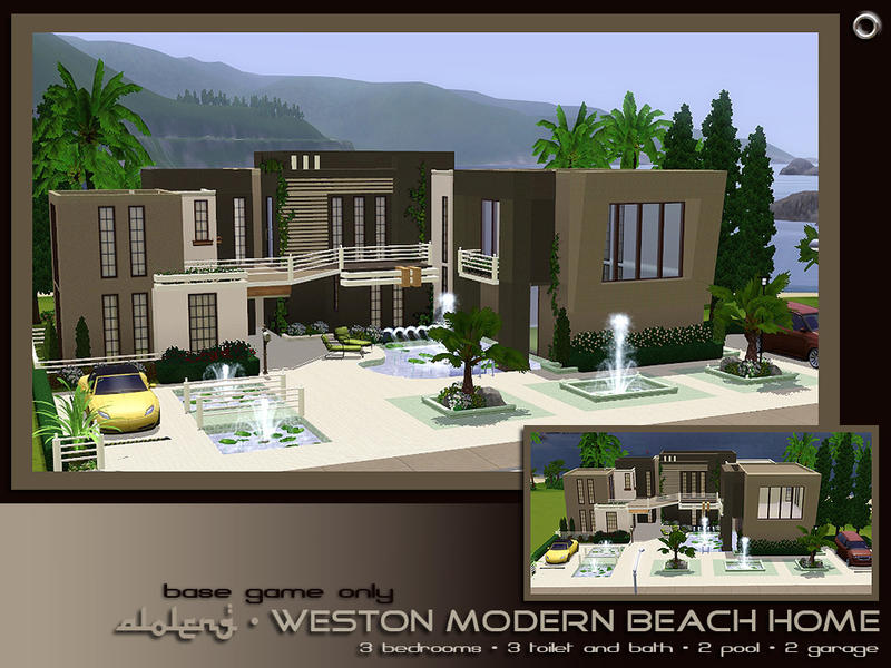 Aloleng 39 s weston modern beach home for Beach house 3 free download