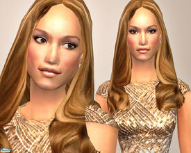 Sims 2 — Jennifer Lopez by TSR Archive — Jennifer Lopez (aka J-Lo)Born in 1969. She\'s best known as popicon and as