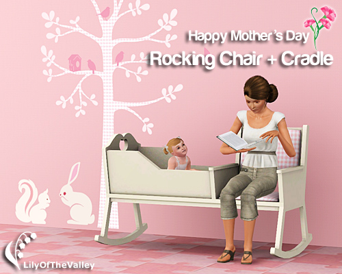 Lilyofthevalley S Mother S Day Rocking Chair Cradle