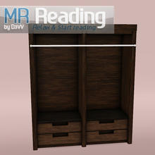 Sims 3 — MR Cupboard by D3VV — Part of the MR Reading Corner set, relax and start reading. Created by D3VV @ TSR