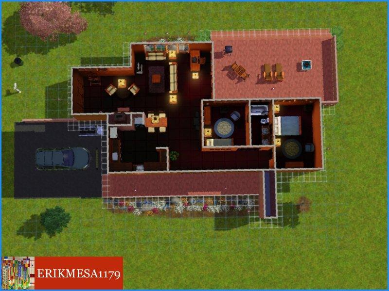 ErikMesa1179's EM3-FLW Goetsch-Winkler House on frank lloyd wright plan, zimmerman house plan, pope-leighey house plan,