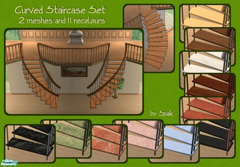 Spaik S Curved Staircase Set