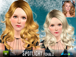 Sims 3 — Newsea SpotLight Female Hairstyle by newsea — This hairstyle is for female. Works for all ages. All morph states