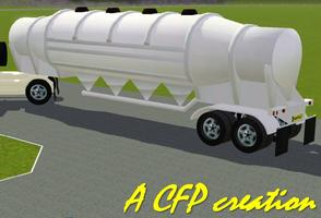 Silo Grain Supply Truck Tank
