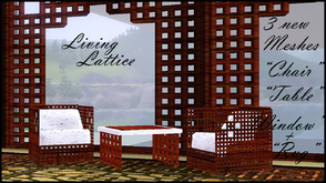 Sims 3 — LATTICE by abuk0 — for orient,asia or exotic stylisch sims