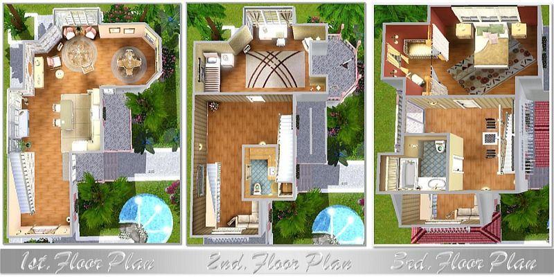 Красивые дома схемы
