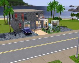 Sims 3 — Lonely at Night  by Amaro_Shiro — Lonely at Night A House for 1Person(optional) Some objects are custom, i do