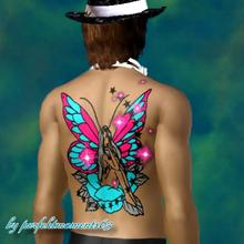 Sims 3 — Fairy Tattoo by perfektmoments632 — by perfektmoments63
