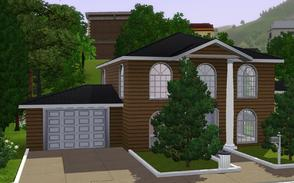 Sims 3 — Simple Luxury - Cinnamon by Anakin_Stupaine — Cozy home for medium sized families. 3 bedrooms and 2 bathrooms.