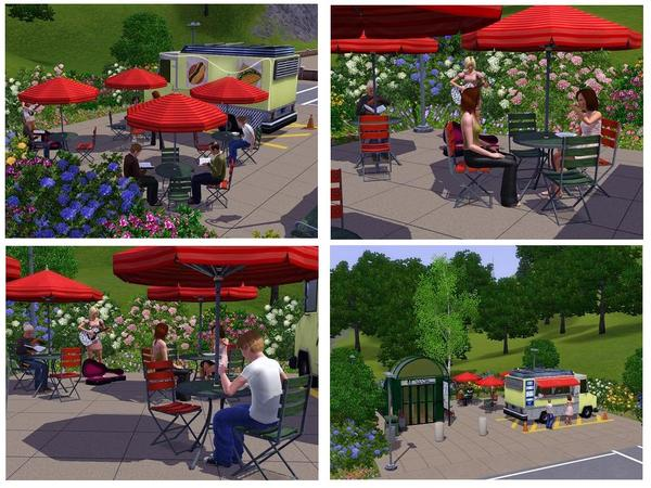 Sims  How To Place Food Truck