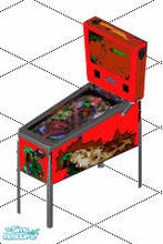 Sims 1 — Dinoausur  pinball (red) by giemelregis — Special cool omg and good