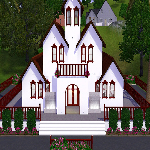 Wedding Altar Sims 3: Christina832010's Wedding Chapel