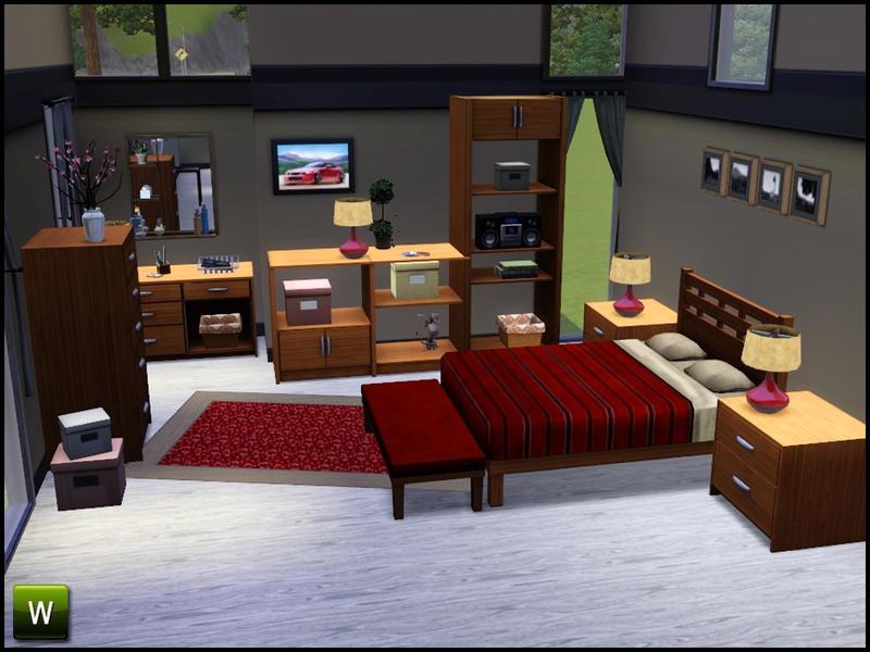 Sim Man123 39 S Banburry Bedroom