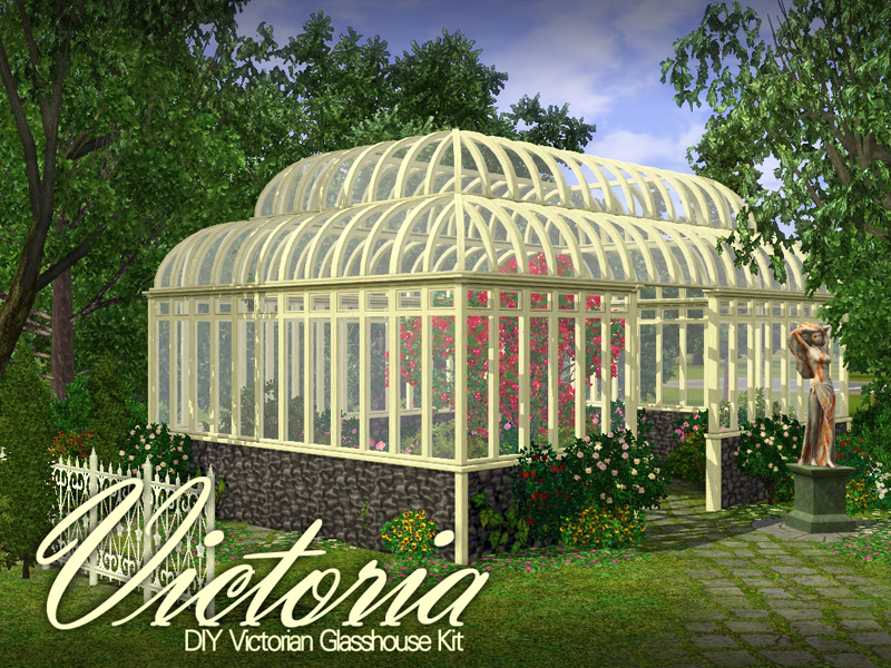 Applefall 39 s 39 victoria 39 greenhouse for Build a victorian greenhouse