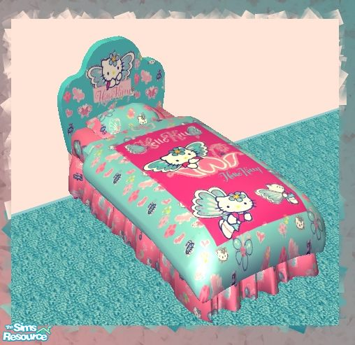 Frogger1617 S Hello Kitty Bedroom Set Bedding
