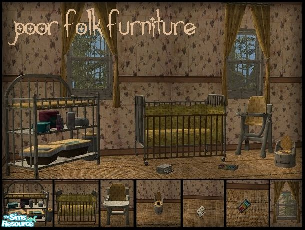 Galilea S Poor Folk Furniture Nursery