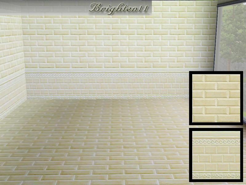 Brighten11\'s BR11 Subway Tile Wall