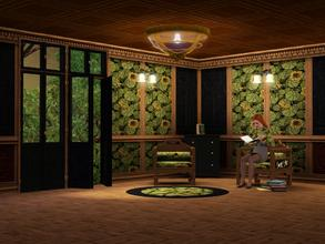 Sims 3 — Art Nouveau Lotus by TheBombson —
