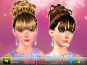 Sims 3 — Newsea BabyFace Female Hairstyle by newsea — This hairstyle is for female. Works for all ages. All morph states