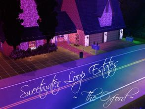 Sims 3 — Sweetwater Loop Estates - The Oxford by Ilerya822 — Welcome to Sweetwater Loop Estates! A thriving community for