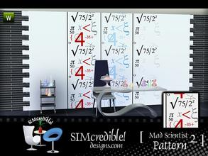 Sims 3 — Mad Scientist Patterns #2 by SIMcredible! — by simcredibledesigns.com available at TSR
