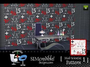 Sims 3 — Mad Scientist Patterns #1 by SIMcredible! — by simcredibledesigns.com available at TSR