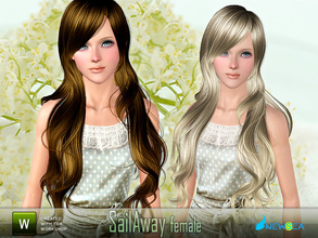 Sims 3 — Newsea SailAway Female Hairstyle by newsea — This hairstyle is for female. Works for all ages. All morph states