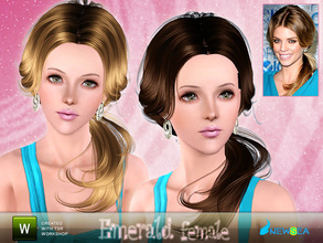 Sims 3 — Newsea Emerald Female Hairstyle by newsea — This hairstyle is for female. Works for all ages. All morph states