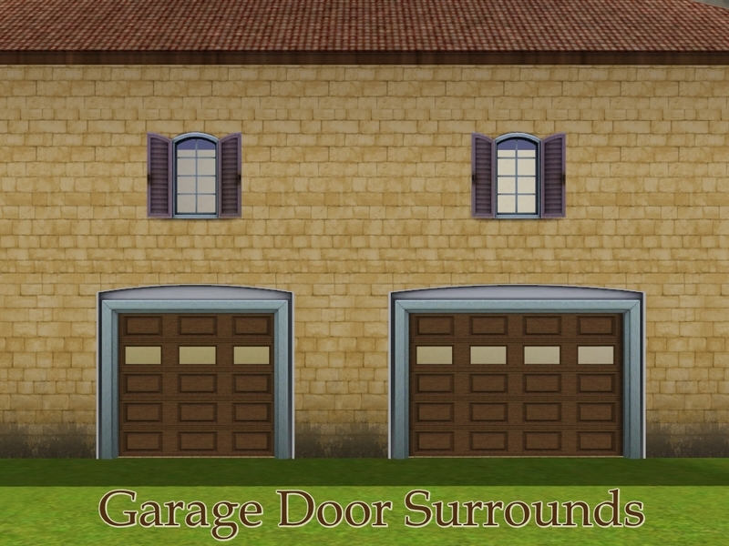 Missyzim S Mz French Garage Door Surround 4x1