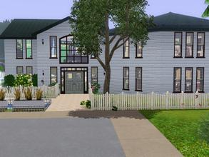 Sims 3 — 500 Sunnyside Blvd Sunset Valley by spitzmagic — A warm and sunny home your Sims will love. A great place for a