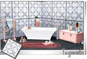 Sims 3 — Tiles Pattern-01a by TugmeL — Recolorable Tiles pattern