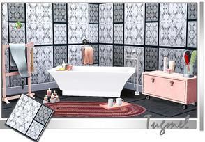 Sims 3 — Tiles Pattern-01c by TugmeL — Recolorable Tiles pattern
