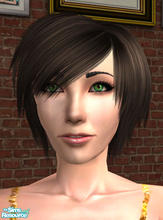 Sims 2 — Niki Nigmos by SilantWanderer — Another one of my sims born in-game that I wanted to share. Enjoy. No CC by me.