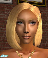 Sims 2 — Adrianna Creo by SilantWanderer — Adrianna is descended from the Goth family, and turned out gorgeously. I