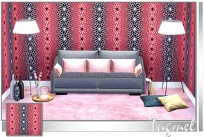 Sims 3 — Geometric Pattern-86 by TugmeL — Tgm-Pattern-86 Recolorable Palettes 1 by TugmeL-TSR