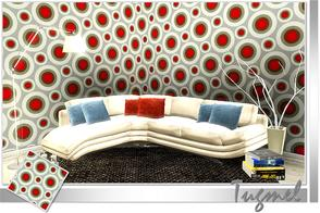Sims 3 — Geometric Pattern-82 by TugmeL — Tgm-Pattern-82 Recolorable Palettes 1 by TugmeL-TSR