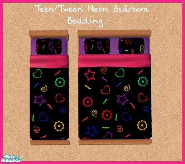 Neon Bedrooms For Teenage Girls: Sinful_aussie's Teen/Tween Neon Bedroom