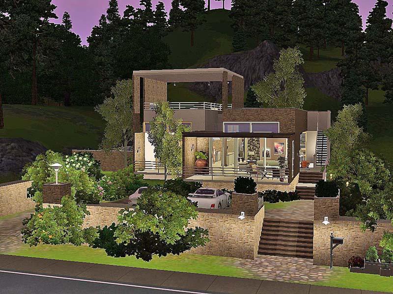 ung999's modern suburban home