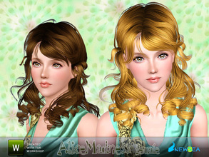 Sims 3 — Newsea AliceMadness Female Hairstyle by newsea — This hairstyle is for female. Works for all ages. All morph