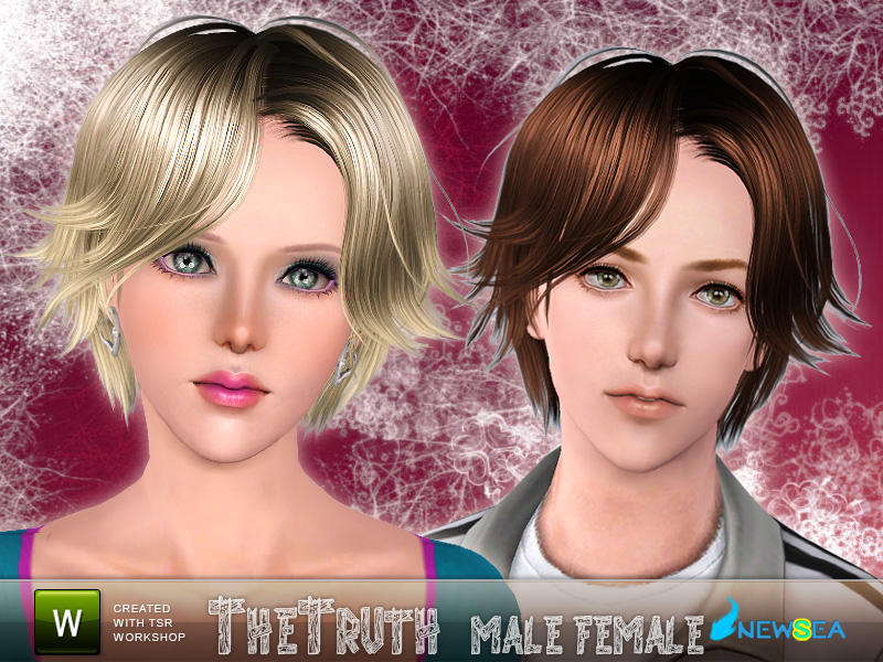 Newsea Thetruth Malefemale Hairstyle